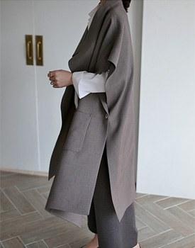 Closet long vest
