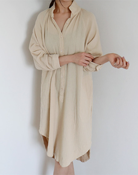 Open double fabric onepiece