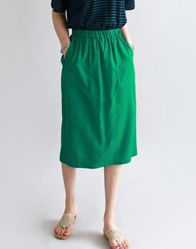 Centaur linen skirt - 3c