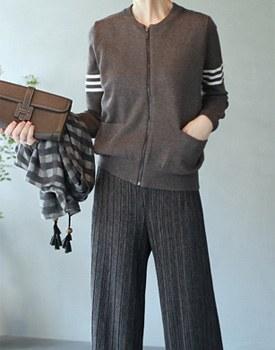 Thom knit blouson - 3c
