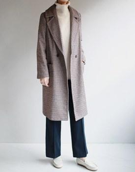 Lambert Check Long Coat