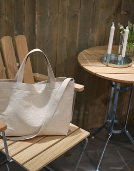 spring linen bag