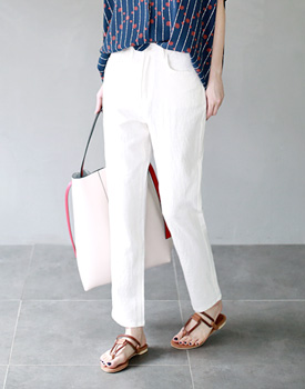 Mason linen cotton pants