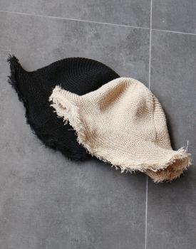 Rattan net hat - 2c