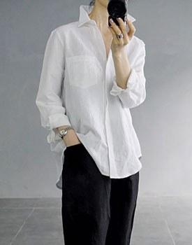 Hershey linen shirt - 2c