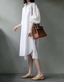 Herrie lace sleeve onepiece