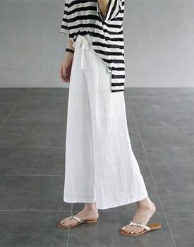Darel linen wide pants - 2c