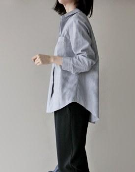Flat stripe shirt - 2c