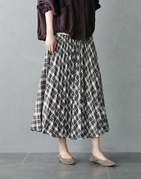 Morman Pleats Skirt - 2c