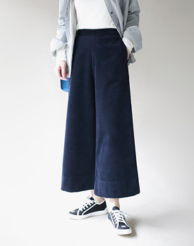 Beck's corduroy wide pants - 2c