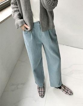 Boyfit corduroy Pants - 3c