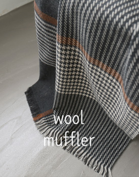 Dominic wool muffler - 2c