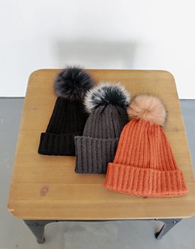 Pony Fox drop hat - 3c