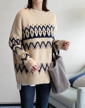 Nordic Wool Knit - 2c