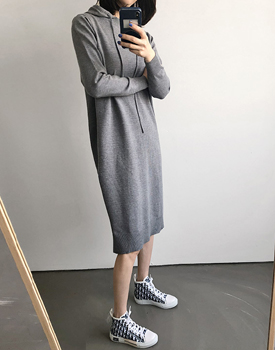 Cosmo hoodie knit dress - 3c