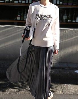 Durrow Pleated Skirt - 2c