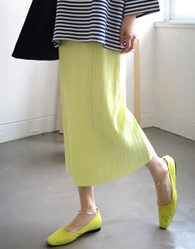 Plan Pleat Skirt - 3c