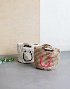 Smile tricotage bag - 2c