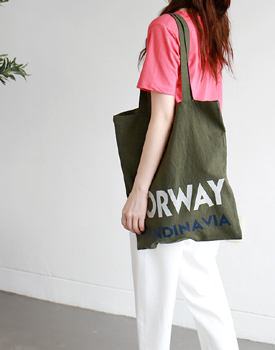 NORWAY Linen Bag - 2c