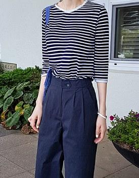 Twinkle striped tee -  2c