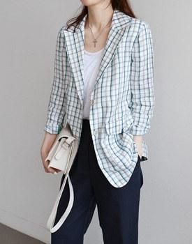 Superna Linen Jacket