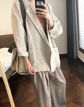 Bazaar linen jacket - 2c