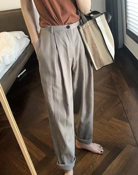 Story Linen Pants - 2c