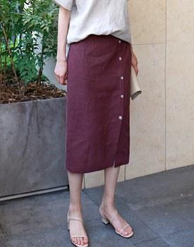 Lamy Button skirt - 3c