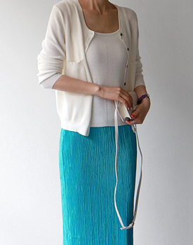 Pocket Knit Cardigan - 3c