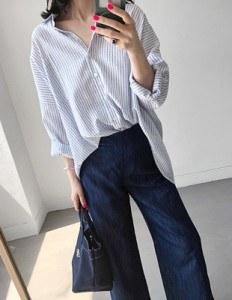 Summer Stripe Lone Shirt - 2c