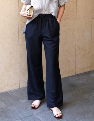Land linen pants - 3c