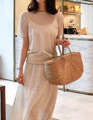 Loggin knit top - 2c