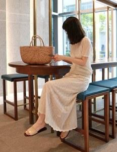 Long knit long skirt - 2c