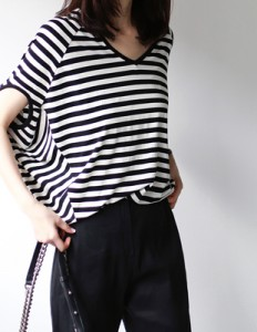 Ray stripe Tee - 2c