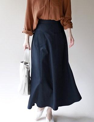 Shape Long Skirt - 2c