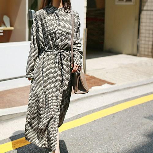 Max print dress