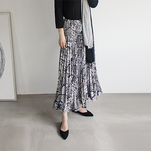 Python Pleated Skirt - 2c