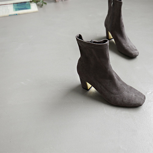 Cellophane Ankle Boots - 3c