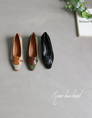 River Low Heels - 3c