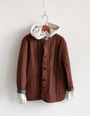 rag quilted jacket - 2c