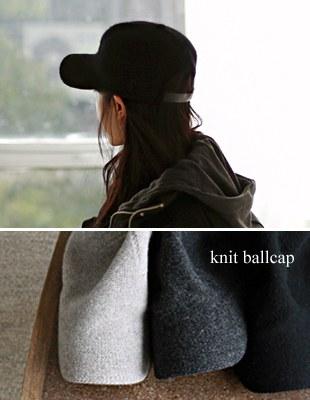 knit ballcap - 3c