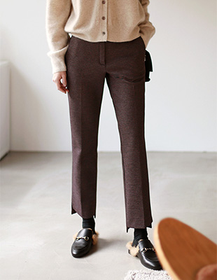 Dublin Check Pants - 2c