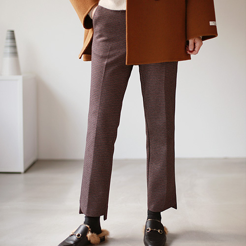 Dublin Check Pants - 2c