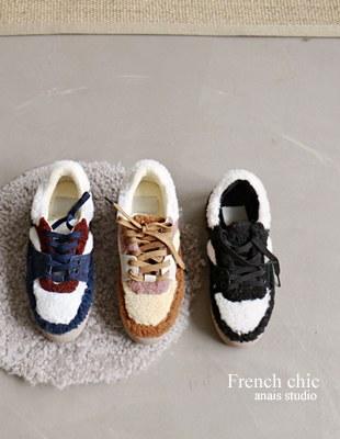 Fleece Marang Sneakers - 3c