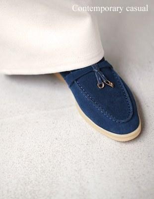 Loro Fleece Loafers - 3c