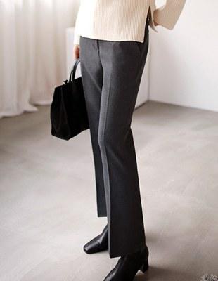 Jess semi-bootcut pants - 3c