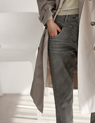 Margaret grey baggy - denim