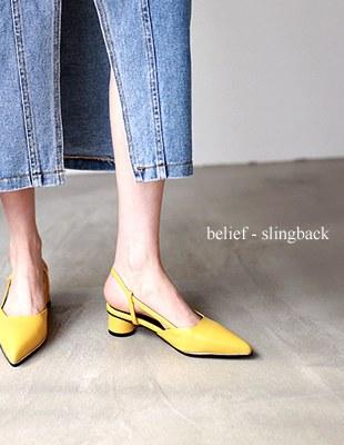 belief - slingback