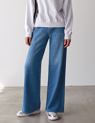 soft wide denim - pt