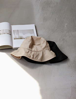 covering bucket hat